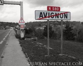 Leaving Avignon
