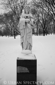 Nature (Statues - Sacred Heart) 12.24.10