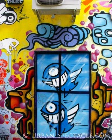 Street Art of Amsterdam (color II) 8.14.08