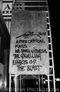 Street Art of Amsterdam (Critical Mass) 8.11.08