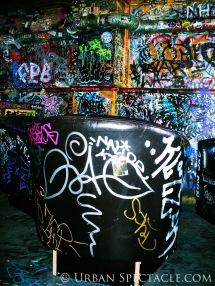 Street Art of Amsterdam @ Hill Street Blues (chair) 8.11.09