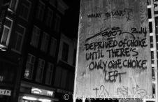 Street Art of Amsterdam (No Choice) 8.11.08