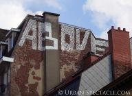 Street Art of Brussels (Above) 8.15.08