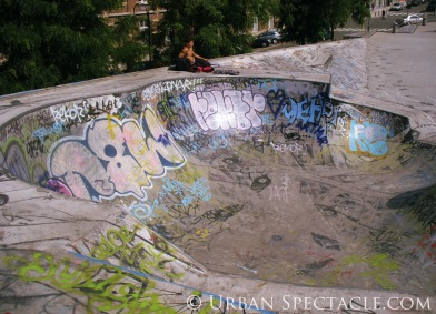 Street Art of Brussels (Recyclart 2) 8.15.08