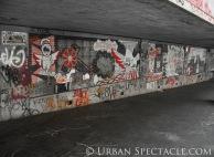 Street Art of Brussels (Red) 8.15.08