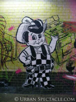 Street Art of London (Big Oil Boy) 8.18.08