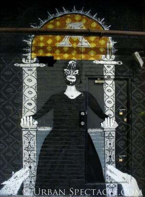 Street Art of London (Chair) 8.18.08