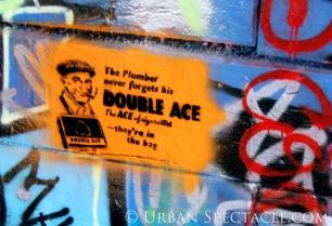 Street Art of London (Double Ace) 8.6.08