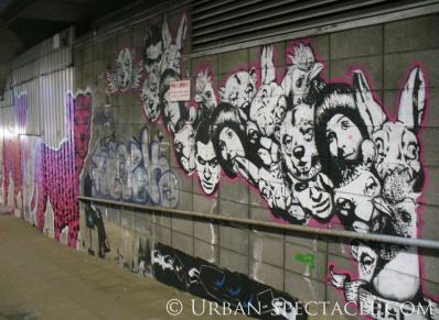 Street Art of London (Faces) 8.18.08