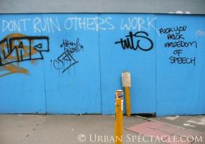 Street Art of London (Freedom of Speech) 8.18.08