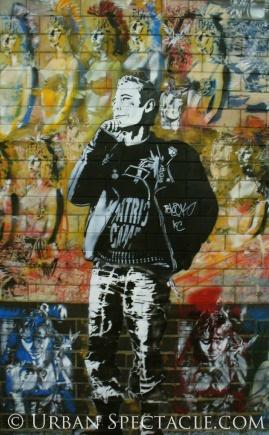 Street Art of London (Joe Strummer) 8.18.08
