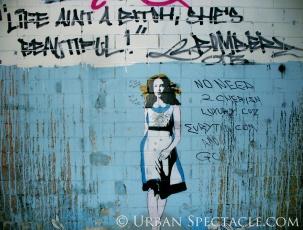 Street Art of London (Life's A Bitch) 8.18.08