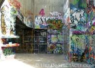 Street Art of London (Museum area) 8.6.08