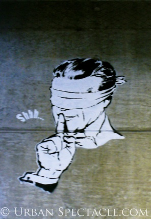 Street Art of London (Shhh) 8.18.08