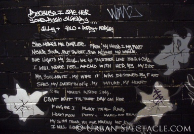 Street Art of London (Street Allegory) 8.18.08