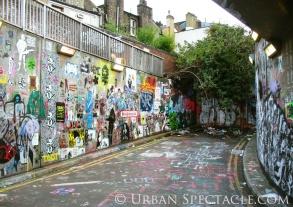 Street Art of London (Wall 2) 8.18.08