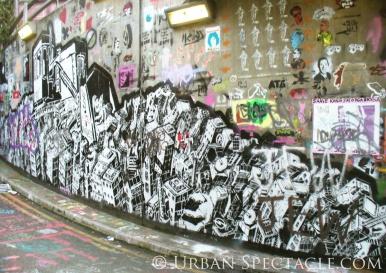 Street Art of London (Wall) 8.18.08