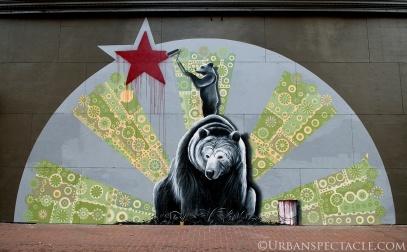 Street Art of San Francisco (California Republic) 10.6.14