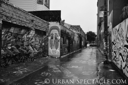 Street Art of San Francisco (Clarion Alley) 1.20.12