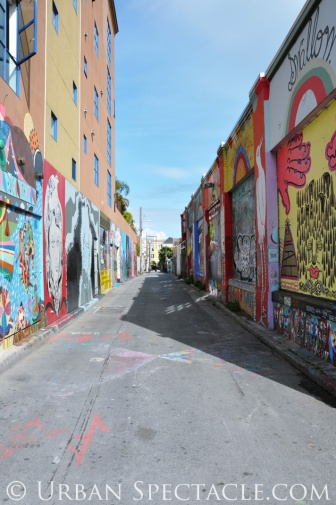 Street Art of San Francisco (Clarion Alley entrance) 3.25.10