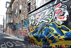Street Art of San Francisco (Clarion Alley entrance @ Valencia) 3.25.10