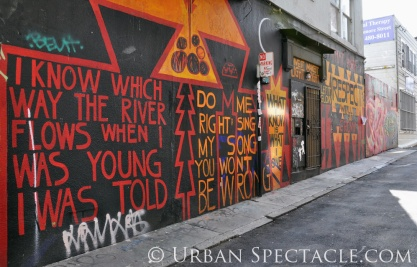 Street Art of San Francisco (Clarion Alley @ Mission) 3.25.10
