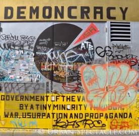 Street Art of San Francisco (Demoncracy 2) 3.25.10