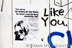 Street Art of San Francisco (Enemy) 8.4.12
