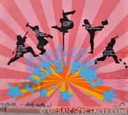 Street Art of San Francisco (Fists of Fury) 3.25.10