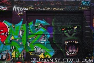 Street Art of San Francisco (Godzilla) 1.20.12 copy
