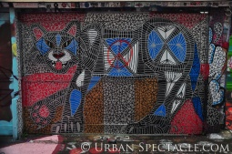 Street Art of San Francisco (Graffiti Cat) 1.20.12