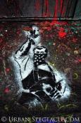 Street Art of San Francisco (Masked Man Street) 1.20.12