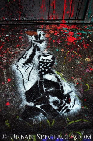 Street Art of San Francisco (Masked Man Street) 1.20.12