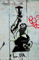 Street Art of San Francisco (Masked Man Wall) 1.20.12