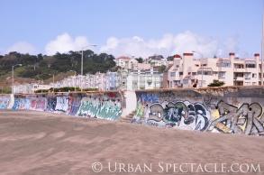 Street Art of San Francisco (Ocean Beach 3)