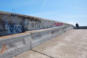 Street Art of San Francisco (Ocean Beach Couple) 3.25.10