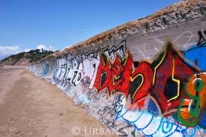 Street Art of San Francisco (Ocean Beach III) 3.25.10