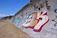 Street Art of San Francisco (Ocean Beach Red) 3.25.10