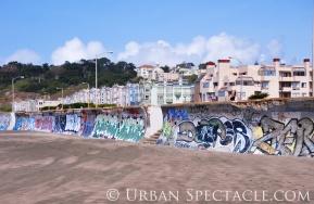 Street Art of San Francisco (Ocean Beach Scene) 3.25.10