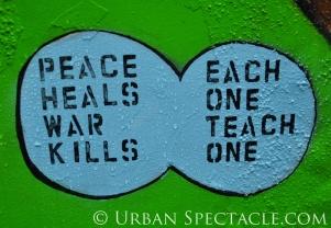 Street Art of San Francisco (Peace) 1.20.12