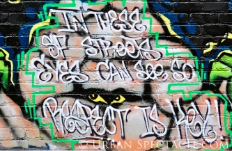 Street Art of San Francisco (Respect) 8.4.12