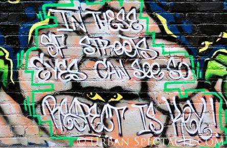 Street Art of San Francisco (Respect) 8.4.12