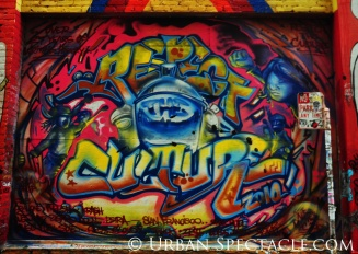 Street Art of San Francisco (Respect Culture) 1.20.12