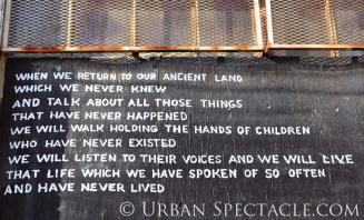 Street Art of San Francisco (Street Poem) 3.25.10