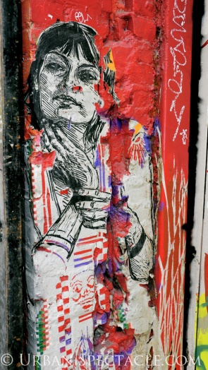 Street Art of San Francisco (Trapped, Now Free) 8.4.11