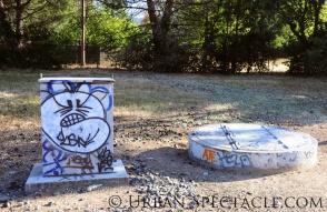 Street Art of San Jose (85 & Pollard) 6.7.11