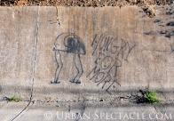 Street Art of San Jose (85 & Pollard (Hungry For More)) 6.7.11