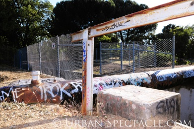 Street Art of San Jose (85 & Pollard (Pipe & Rail)) 6.7.11