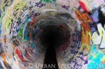 Street Art of San Jose (85 & Pollard (Tunnel 2)) 6.7.11