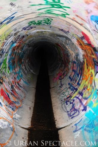 Street Art of San Jose (85 & Pollard (Tunnel)) 6.7.11